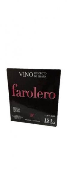 Bag in Box 15 L Tinto Especial Selección Farolero